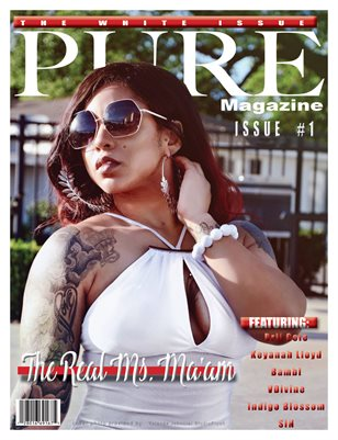 "PURE MAGAZINE ""The White Issue"" issue #1"