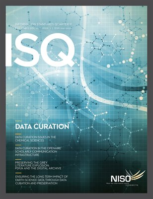 ISQ Fall 2013 - Topic: Data Curation