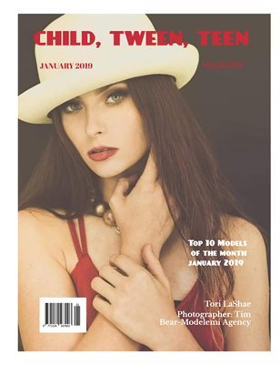 Child, Tween, Teen Magazine-MM January 2019