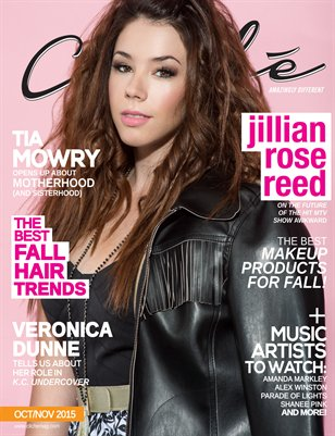 Cliché Magazine - Oct/Nov 2015 (Jillian Rose Reed Cover)