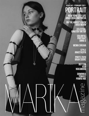 MARIKA MAGAZINE PORTRAIT ( ISSUE 641 - February )