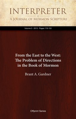 From the East to the West: The Problem of Directions in the Book of Mormon