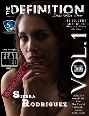 TDM:After Dark 5 year anniversary Sierra Rodriguez Vol.1 Cover 3 August 2019