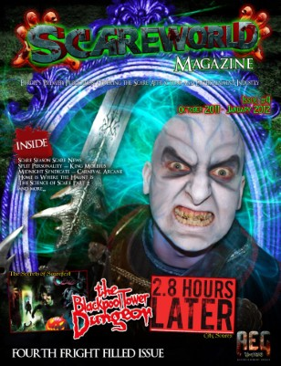 Scareworld - Issue 4 | Fourth Fright Filled Issue