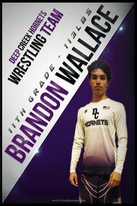 Brandon Wallace DC #1 Poster