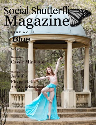 Issue No. 9 - Blue - Social Shutterfli Magazine