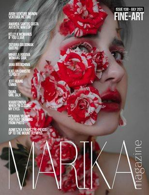MARIKA MAGAZINE FINE-ART (ISSUE 1138 - JULY)