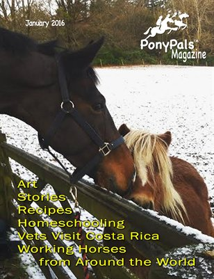 February 2016 Pony Pals Magazine -- Volume 5 #9