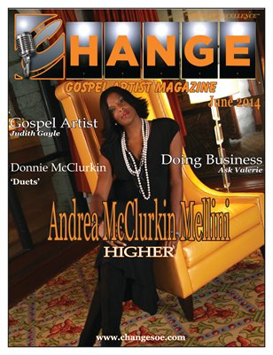 Change Gospel Artist Magazine June 2014