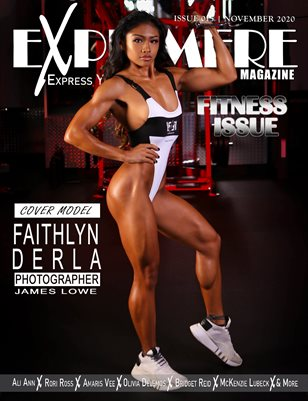Exprimere Magazine Issue 015 Fitness Issue Ft Faithlyn Derla