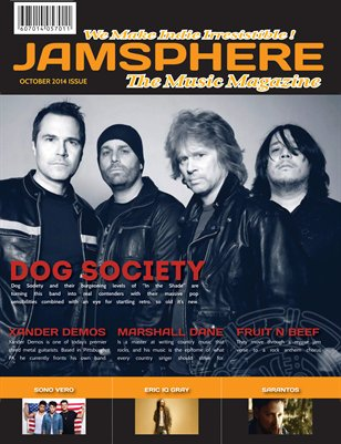 Jamsphere Indie Music Magazine October 2014