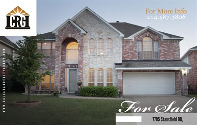Callahan Realty Group - 	7705 Stansfield Dr., Fort Worth, TX 76137