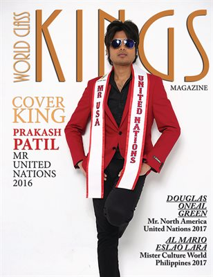 World Class Kings Magazine with Prakash Patil
