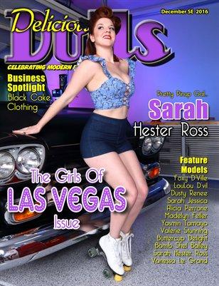 December 2016 Girls of Las Vegas Issue Sarah Hester Ross