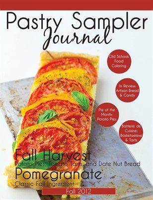 Pastry Sampler Journal Fall 2012