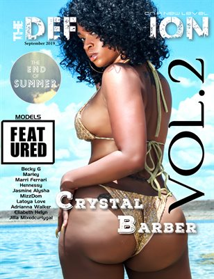 TDM: End Of Summer Cover 1 Crystal Barber Vol 2 September 2019