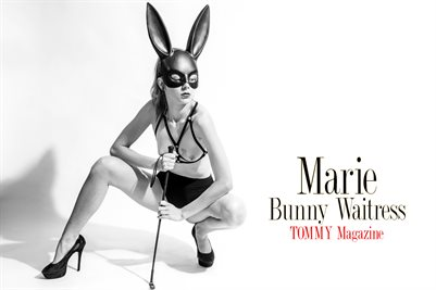Marie - Bunny Waitress - Poster