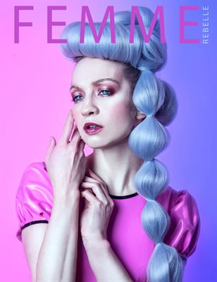 Femme Rebelle Magazine MAY - BOOK 2 Sanne Cover