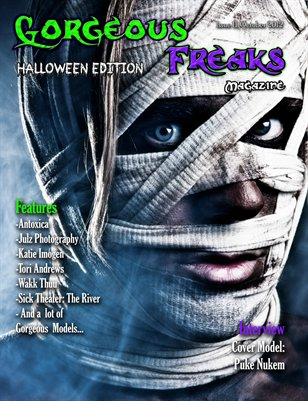 "Issue 11 ""Halloween Edition"" MALE COVER"