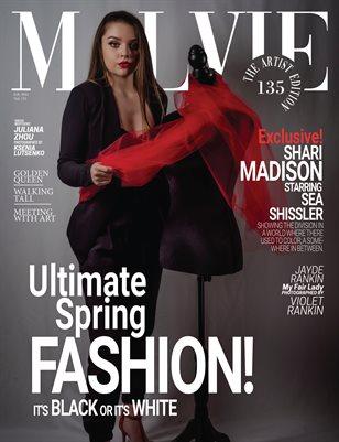 MALVIE Magazine The Artist Edition Vol 135 February 2021