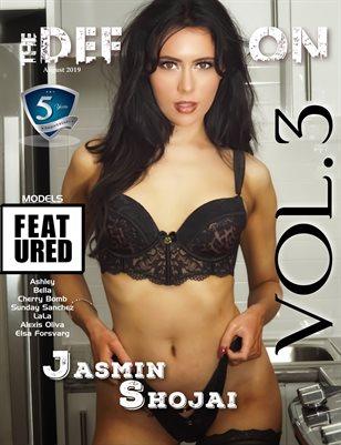 TDM: 5yr Anniversary Jasmin Shojai Cover 2 Vol 3 August 2019