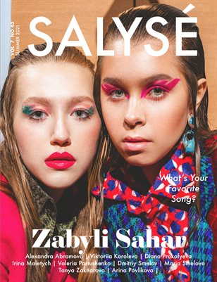 SALYSÉ Magazine   SUMMER 2021   VOL 7 NO 43