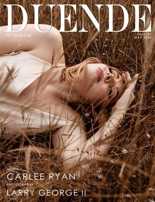 Duende Magazine_Issue 37_Warmth_Alt Cover