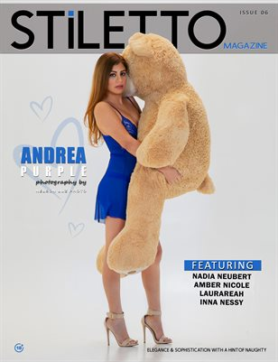 STiLETTO Magazine 06 Ft. Andrea Purple