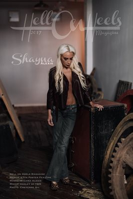 Hell on Heels Magazine March 17th Poster Feature Shayna Alexis