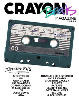 CrayonBeats Magazine: Issue 08 (Issa Throwback)