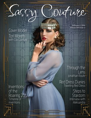 Sassy Couture Magazine Volume #1 Issue Two