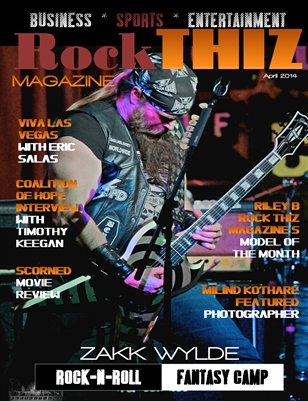 Rock Thiz Magazine April 2014 Issue