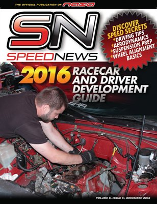 NASA Speed News Annual 2016