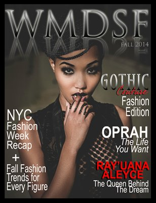 WMDSF MAGAZINE FALL GOTHIC COUTURE FASHION EDITION