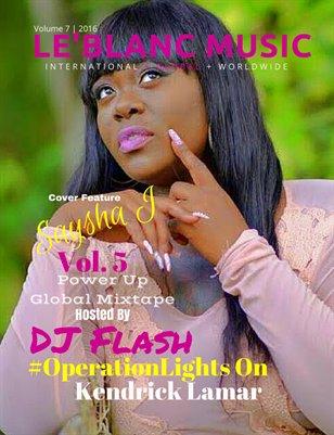 Le'Blanc Music Mag Vol. 7- Saysha J