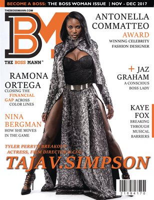 THE BOSS WOMAN ISSUE 2017