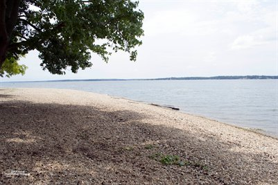 Beach on Kentucky Lake