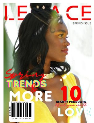LE'FACE MAGAZINE SPRING ISSUE