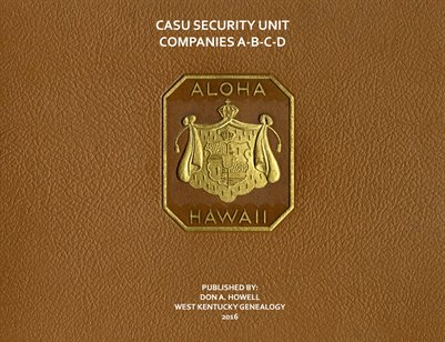 CASU SECURITY UNIT COMPANIES A,B,C,D, HAWAII