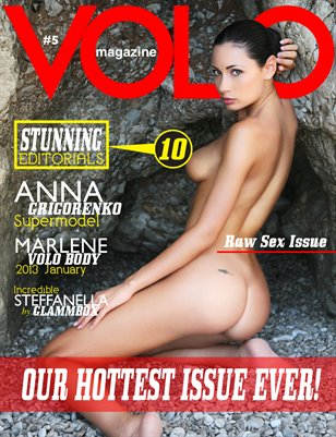 VOLO Magazine #5 - THE RAW SEX ISSUE