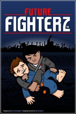 FF Boys BJJ Logo design by Dennis Byrne - Poster
