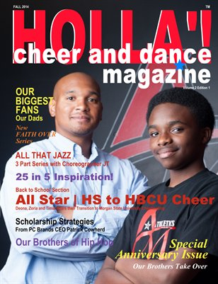 HOLLA'! Cheer and Dance Magazine Fall 2014 Issue