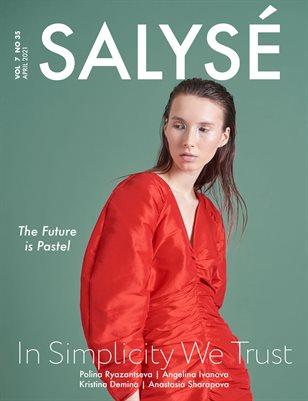 SALYSÉ Magazine | APRIL 2021 | VOL 7 NO 35