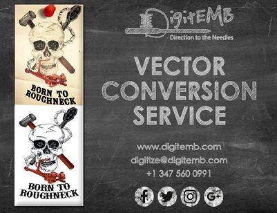 Vector Conversion Service
