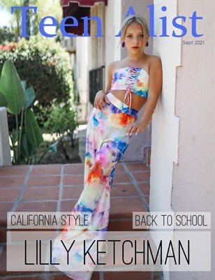 Teen Alist Magazine September 2021