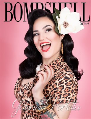 BOMBSHELL Magazine December 2019 BOOK 1 - Gabriela Cover