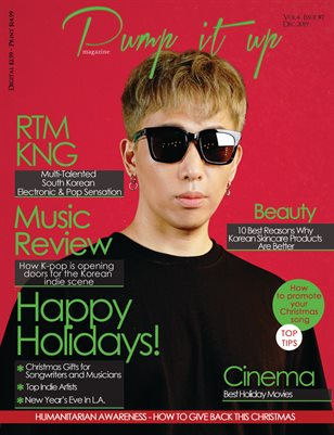 Pump it up Magazine  With RTMKNG - Vol.4-Issue #7 South Korean Dj & Producer