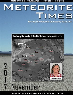 Meteorite Times Magazine - November 2017 Issue