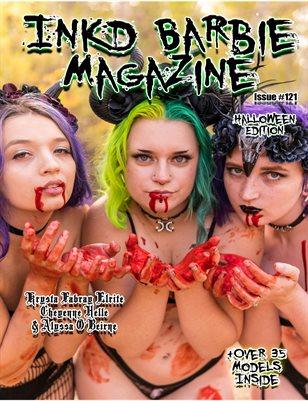 Inkd Barbie Magazine Issue #121 - Krysta Fabray Elrite, Cheyenne Helle, Alyssa O'Beirne