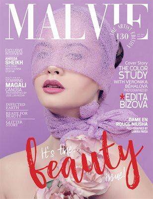 MALVIE Magazine The Artist Edition Vol 130 January 2021